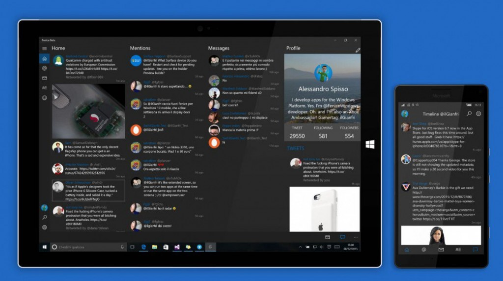 twitter app windows