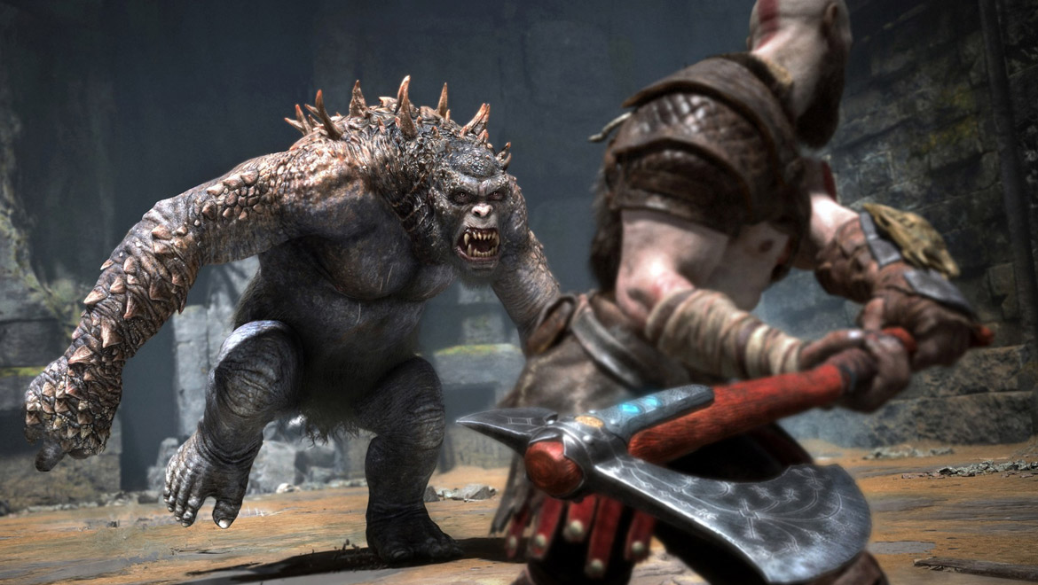 God of War combat image